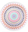 round beach towel-2